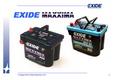 Technologie EXIDE MAXXIMA