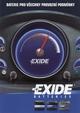 Výrobní program - autobaterie EXIDE