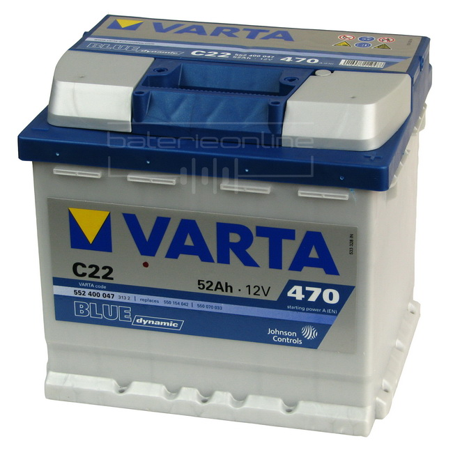 VARTA Blue dynamic 12V/52Ah