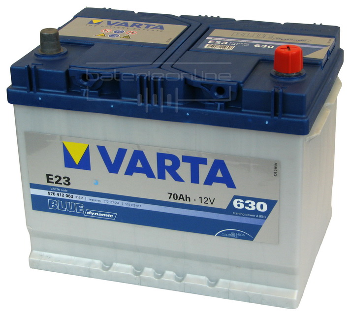 VARTA Blue dynamic 12V/70Ah