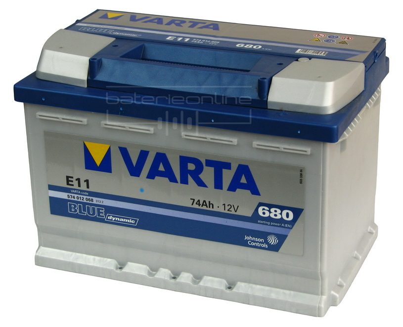 VARTA Blue dynamic 12V/74Ah