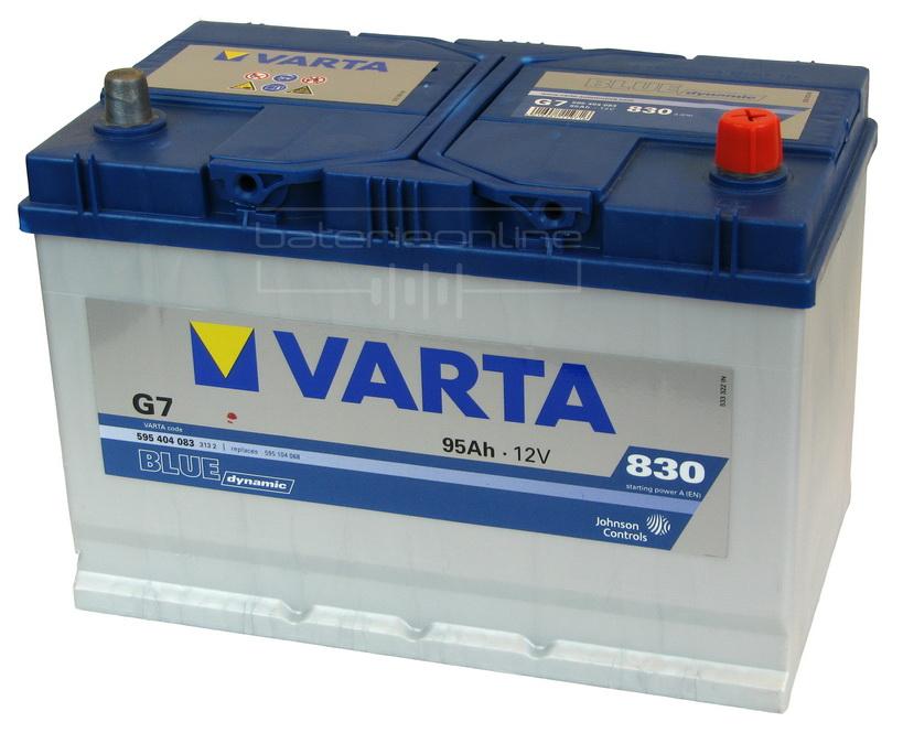 autobaterie varta blue dynamic 12v 95ah baterieonline. Black Bedroom Furniture Sets. Home Design Ideas