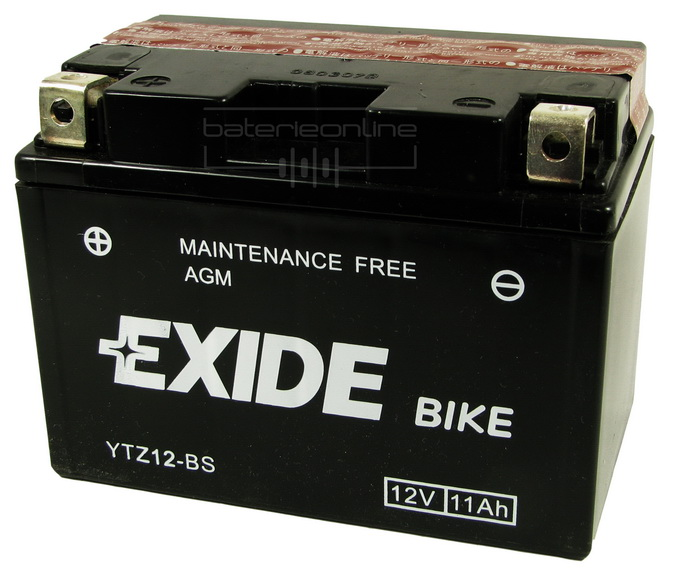 EXIDE BIKE AGM 12V/11Ah YTZ14-BS