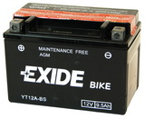 EXIDE BIKE AGM 12V/9,5Ah YT12A-BS