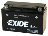 EXIDE BIKE AGM 12V/6,5Ah YT7B-BS