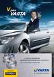 Výrobní program - autobaterie VARTA