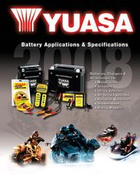 Výrobní program - motobaterie YUASA